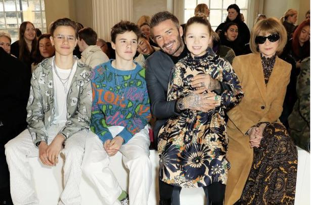 Victoria Beckham Won't Let Model Daughter Harper Wear Thigh-High Boots On Fashion Show
