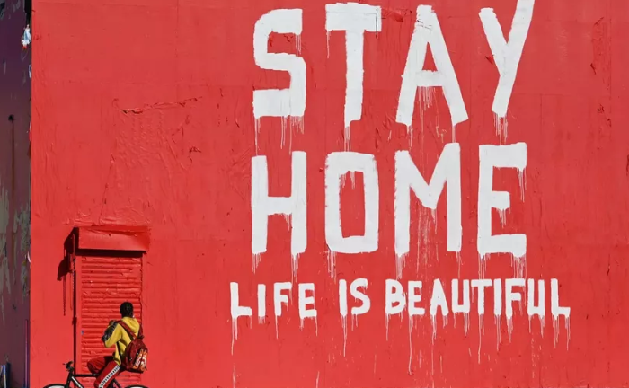Street Art Around The World Showing Us How Life Is Changing Due To Pandemic