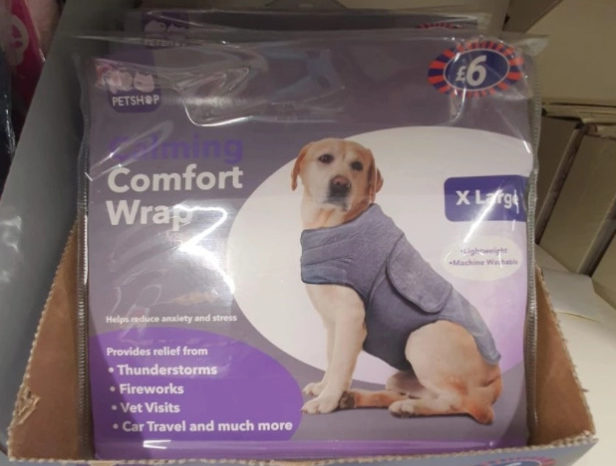 'Comfort Coat': A Coat That Calms The Dog During Fireworks