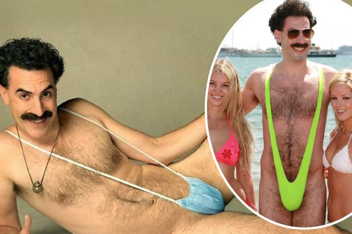 Borat is back and he swaps that neon green mankini for a FACE MASK referencing coronavirus pandemic!