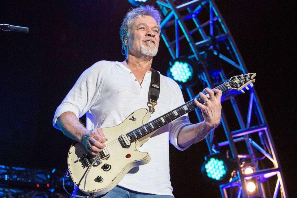 Legendary Guitarist Eddie Van Halen Dies Of Cancer At Age 65...